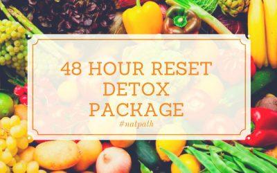 48H RESET – Detox package