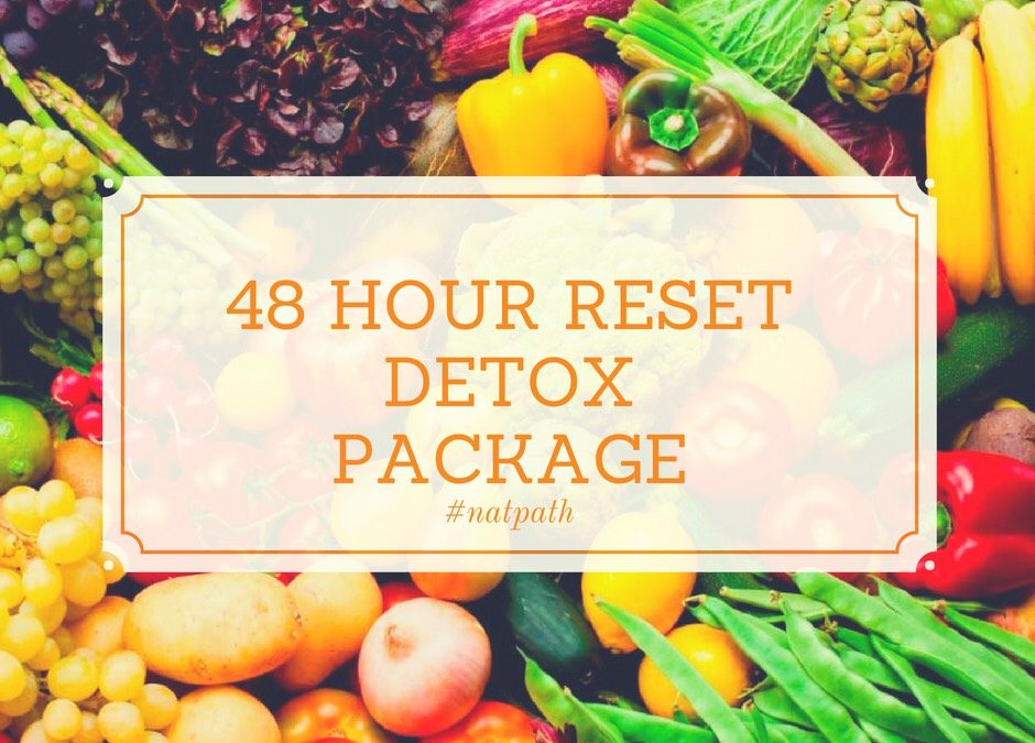 ?48H RESET? Detox package